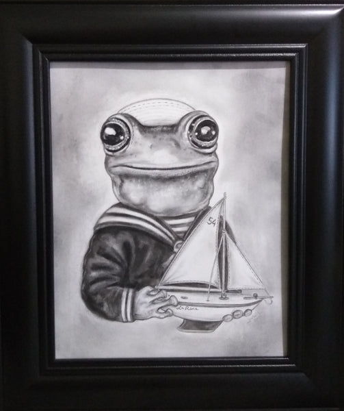 LA RANA (The Frog) #54 by artist Julie B