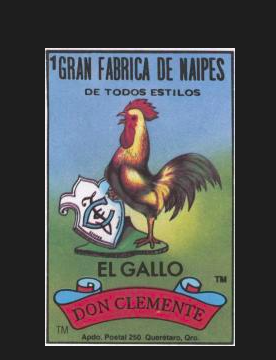 #1 EL GALLO (The Rooster) by artist Mavis Leahy