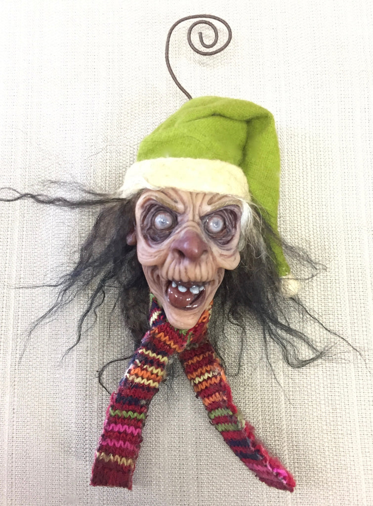WINTER WONDERLAND ZOMBIE #3 by artist Sheila Bentley