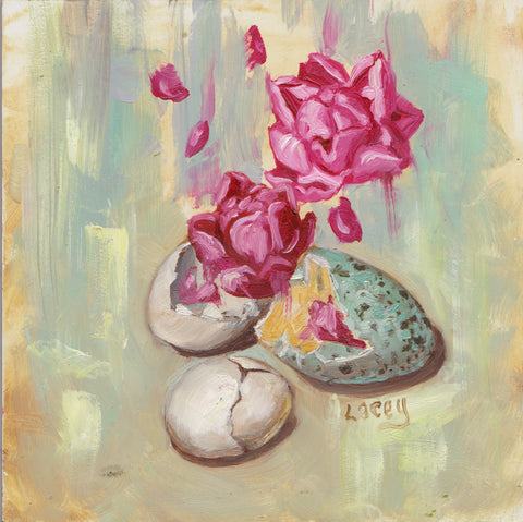 HATCHING by artist Lacey Bryant