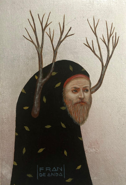 The Hermit Magician by artist Fran De Anda