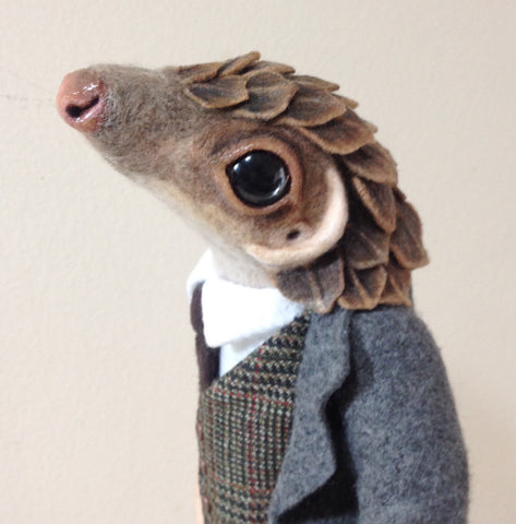 Professor Pangolin  by artist Julie B