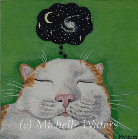 """Pondering Infinity"" by artist Michelle Waters"