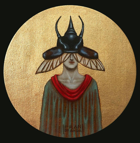 The Magician of the Insects by artist Fran De Anda