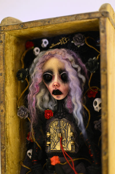 THE PRISONS OF OUR CHILDHOOD by artist Anima ex Manus Art Dolls (Ioanna Tsouka)