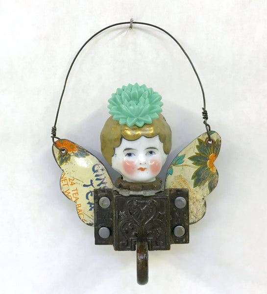 JADE by artist Salvage Art Sweetheart (Marsha Perloff)