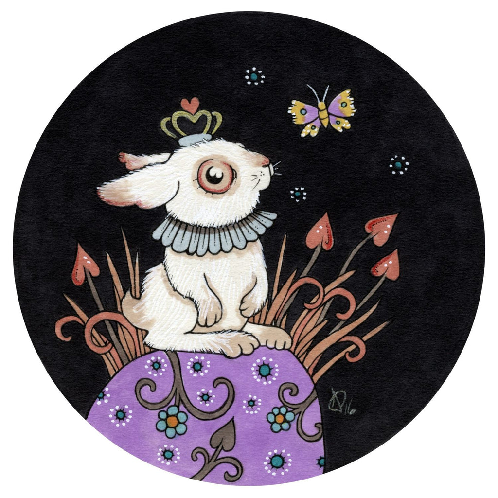 The Jewelled Rabbit by artist Anita Inverarity