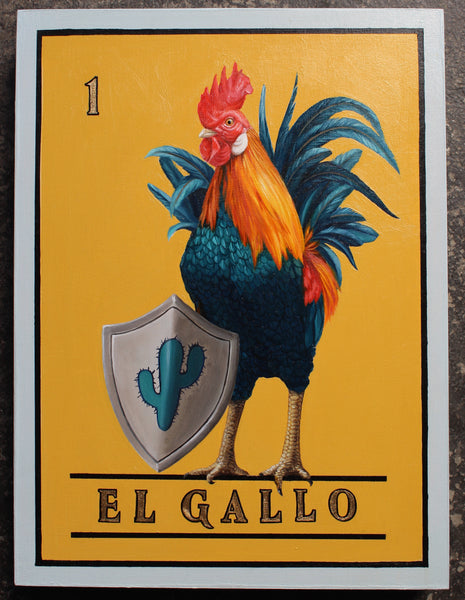 EL GALLO #1 (The Rooster) by artist Jon Ching