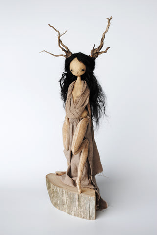 DEER WOMAN by artist Karly Perez