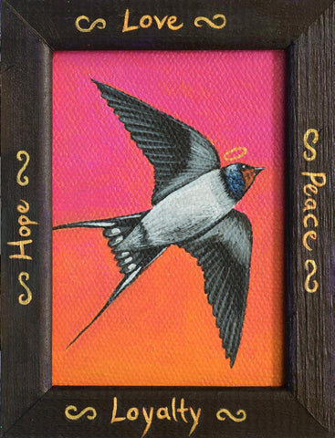 LA GOLONDRINA (The Swallow) #57 by artist Michelle Waters