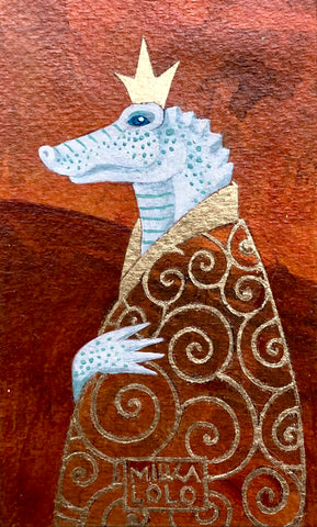 EL LAGARTO (The Alligator) #75 by artist Milka LoLo