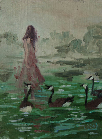 LAKE DANCE by artist Lacey Bryant