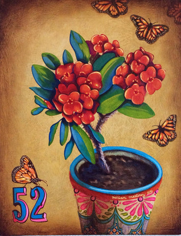 La maceta #52 (The Flowerpot) by artist Miriam Martinez