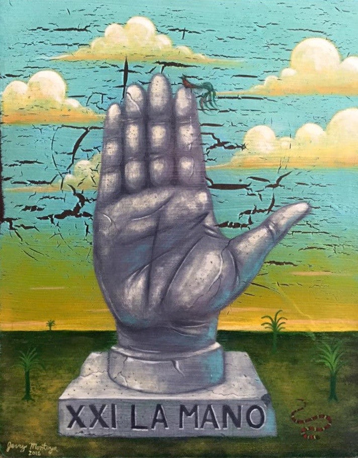 La mano #21 (The Hand) by artist Jerry Montoya