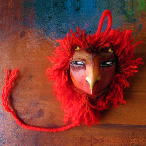 Large Red Bete by artist Patricia Krebs