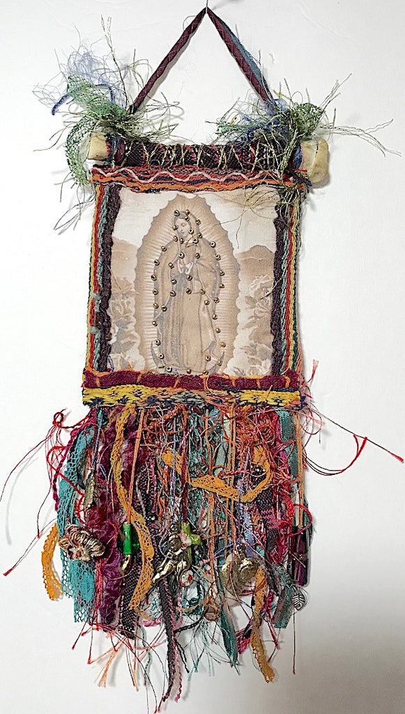 DEVOTIONAL ORNAMENT/HANGING I by artist Mavis Leahy