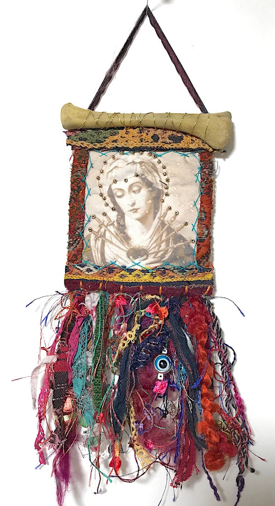 DEVOTIONAL ORNAMENT/HANGING II by artist Mavis Leahy