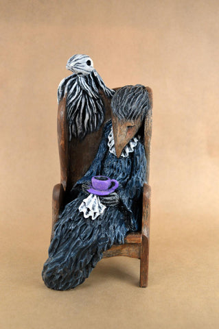 MYRTLE'S GHOST AND A CUP OF TEA by artist Lisa Snellings