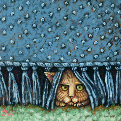 """Lurking"" by artist Holly Wood"