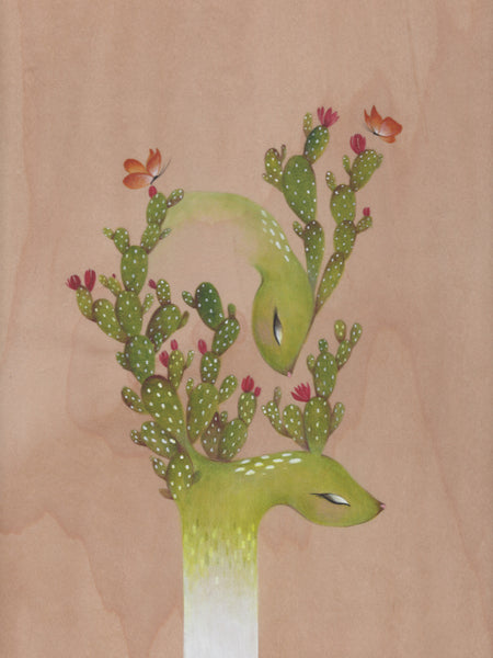 #39 EL NOPAL (The Prickly Pear Cactus) by artist Malathip