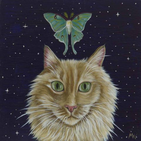 THE NIGHT WATCHER  by artist Michelle Waters