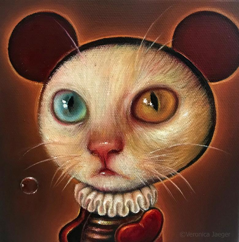 MICKEY MEOW by artist Veronica Jaeger