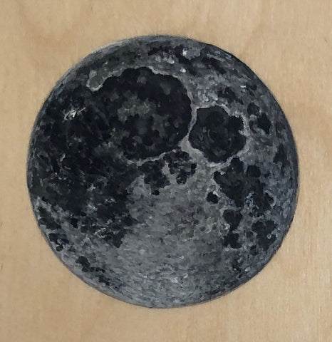 MOON I by artist Cat Sommer