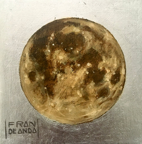 THE MOON by artist Fran De Anda