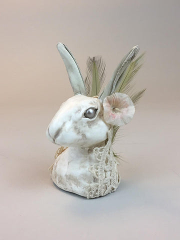MOONFLOWER RABBIT by artist Alex Wells (Ragged Caravan)