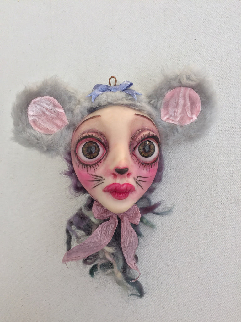 Mousey Girl by artist Sheri DeBow