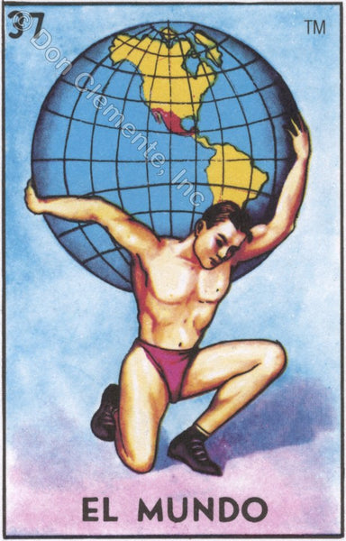 EL MUNDO (Nuestra Madre La Tierra) / The World #37 by artist Gabriela Zapata