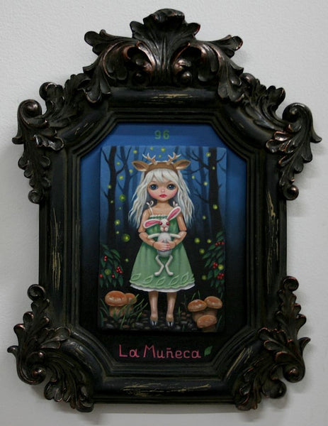 #96 LA MUÑECA / Deer Doll (The Doll) by artist Olga Ponomarenko
