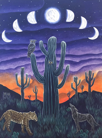 SACRED BORDERLANDS by artist Michelle Waters