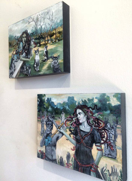 HER EXHIBIT by artist Nancy Cintron