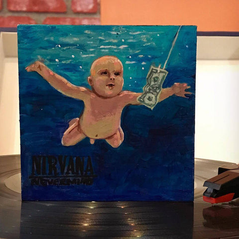 NEVERMIND by artist Eden Folwell