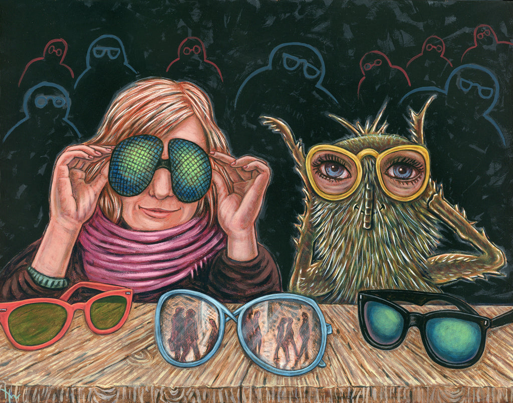 NEW EYES by artist Holly Wood