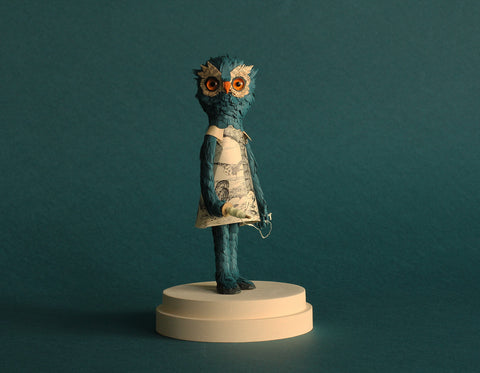 NOADERL (Night Owl) by Alexandra Lukaschewitz