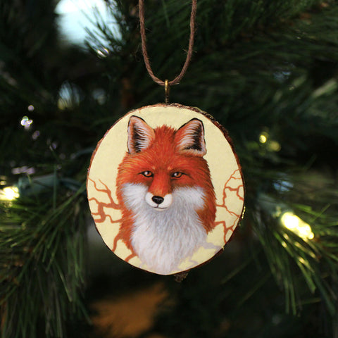 Fox Roots Ornament by Lena Sayadian