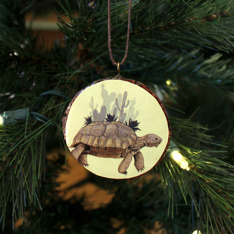 Turtle Ornament by Lena Sayadian