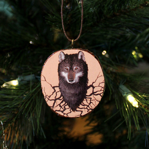 Wolf Roots Ornament by Lena Sayadian