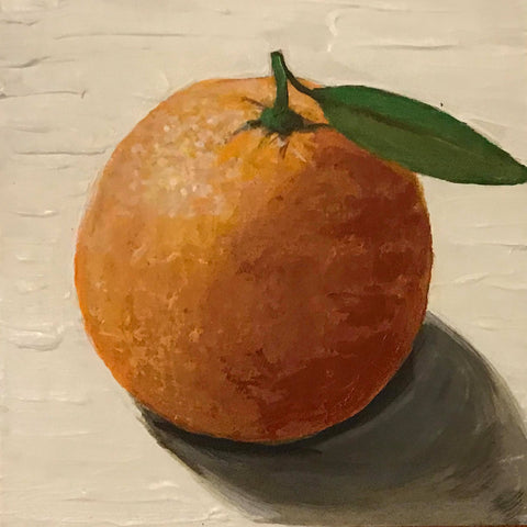 ORGANIC ORANGE by artist Douglas Alvarez