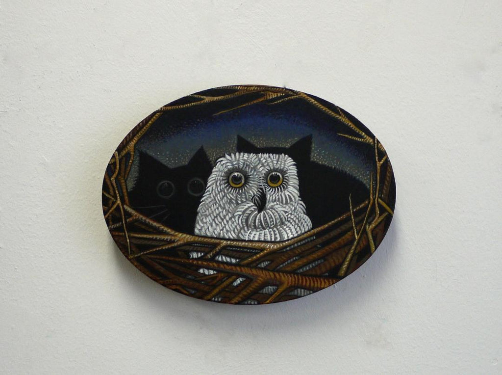 THE NIGHT OWL by artist Janet Olenik
