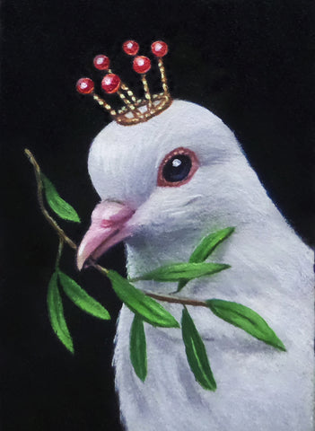 LA PALOMA (The Dove) #73 by artist Olga Ponomarenko