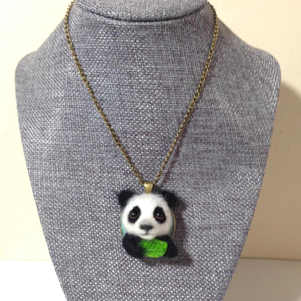 Tiny Giant Panda by artist Julie B