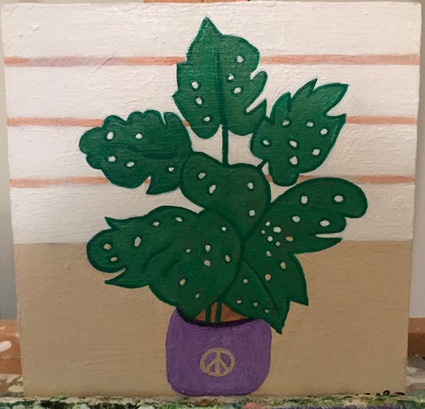 Peace Plant by artist Terri Berman