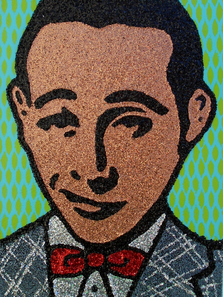 PEEWEE HERMAN by artists Evād and Sue Zola