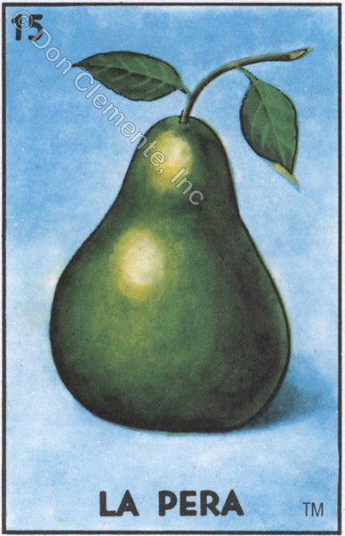 LA PERA (The Pear) #15 by artist Douglas Alvarez