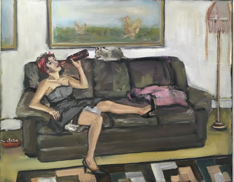 Domestically Dysfunctional Pin-Up, Perseverance by artist Nancy Cintron