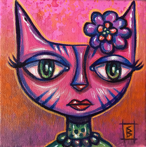 PINK PUSSY POWER by artist Christine Benjamin