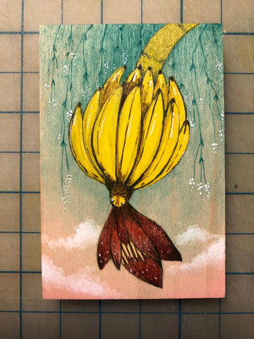 LOS PLATANOS #67 (The Plantains) by artist Malathip